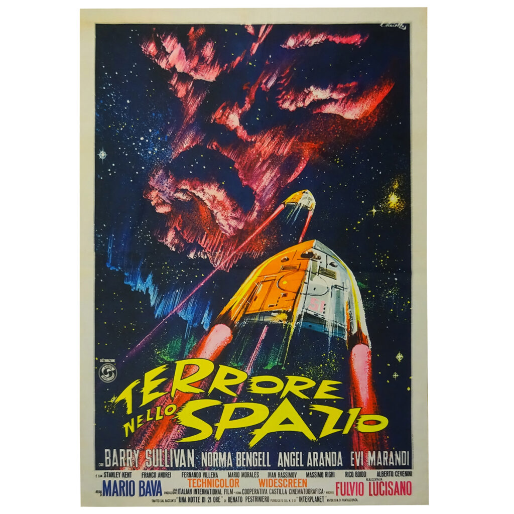 Póster Terror en el espacio