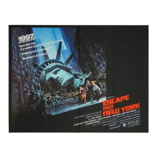 Póster 1997: Rescate en Nueva York