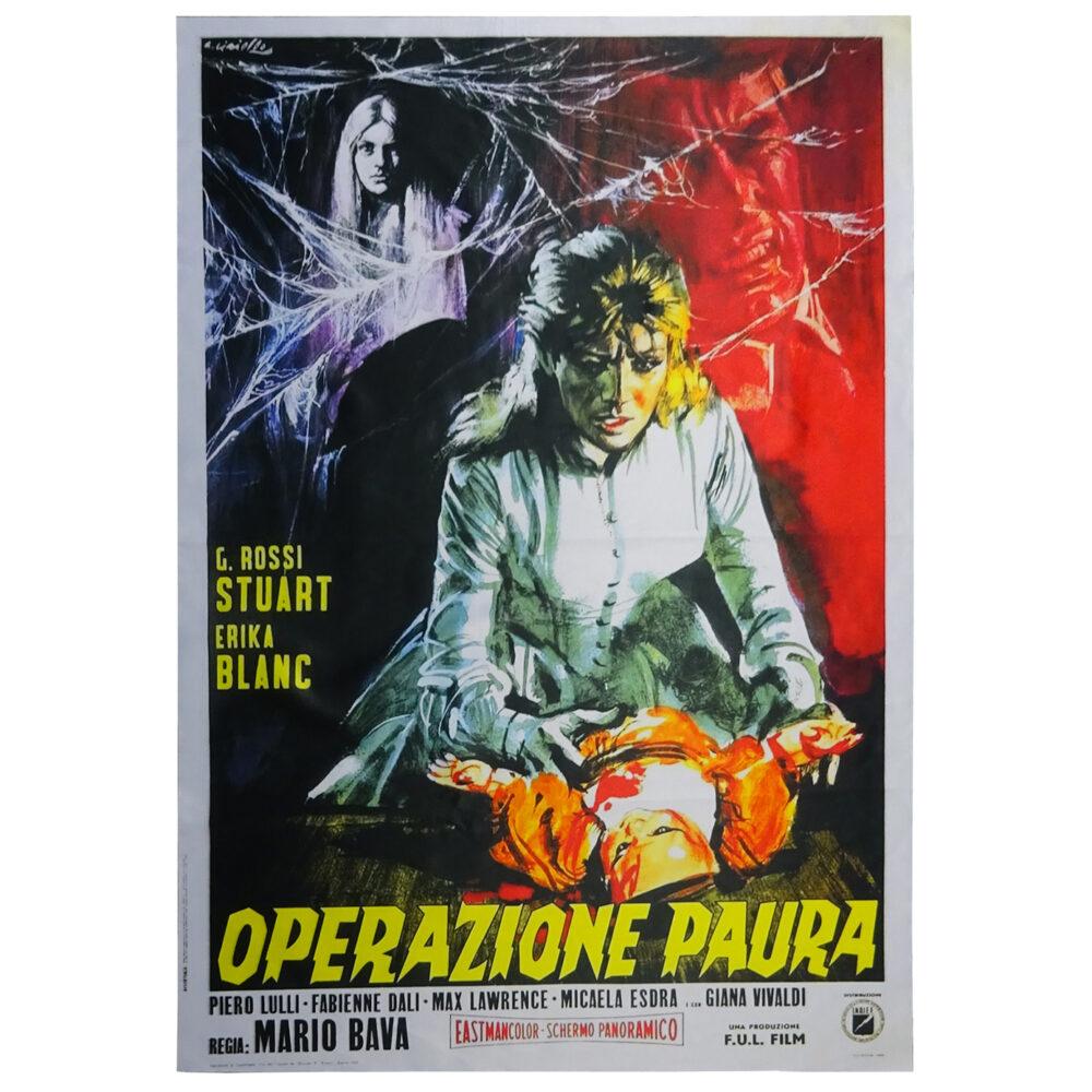 Póster Operazione Paura