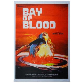 Póster Bahía de sangre