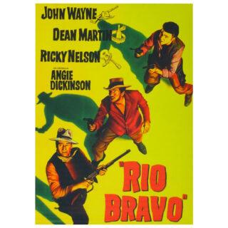 Póster Río Bravo